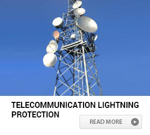 Telecommunication lightning protection