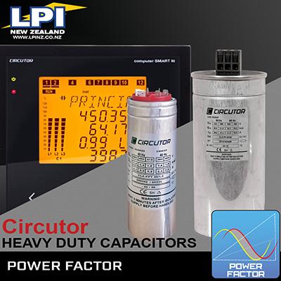 Capacitors-Power Meters