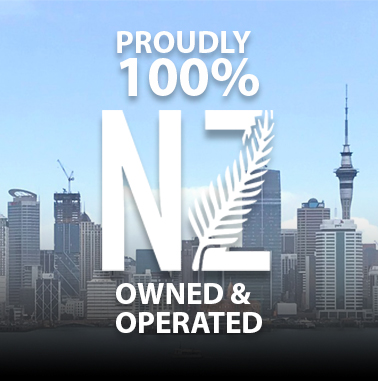 100% PROUD NZ OWNED AND OPERATED - LPINZ